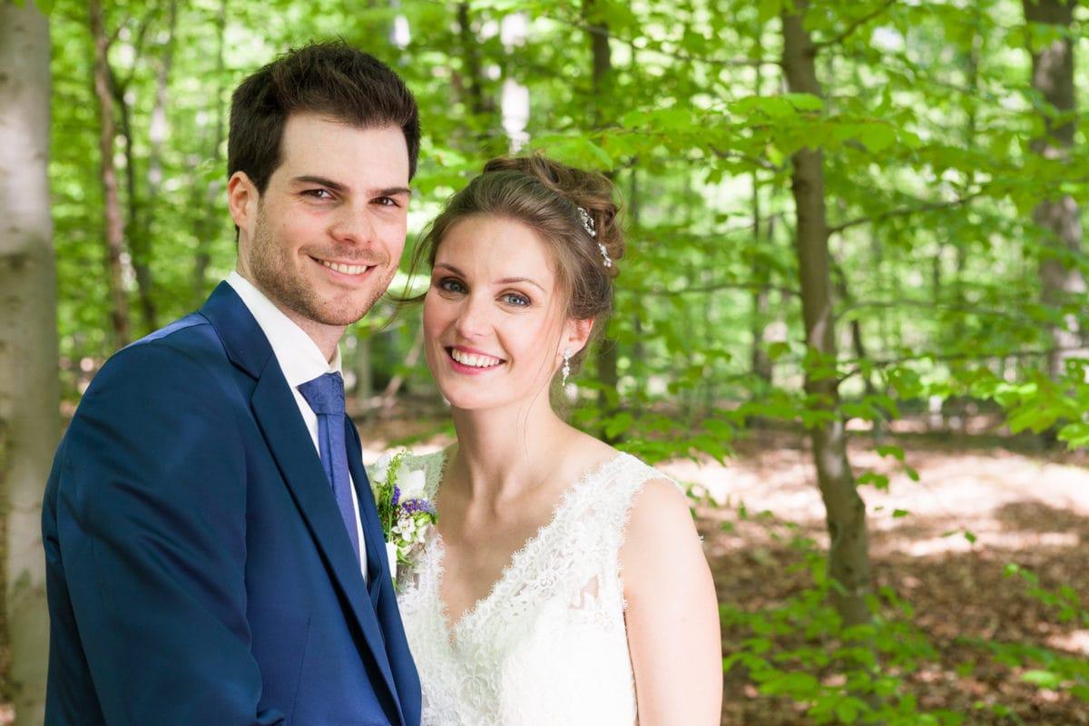 Huwelijk in Vaalbeek van Karen en Wim
